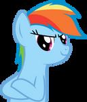 Impromptu Vector - Rainbow Dash