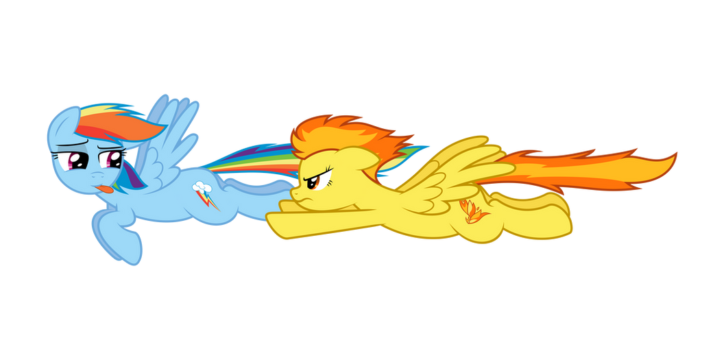 RD and Spitfire - Race by bobsicle0