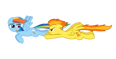 RD and Spitfire - Race