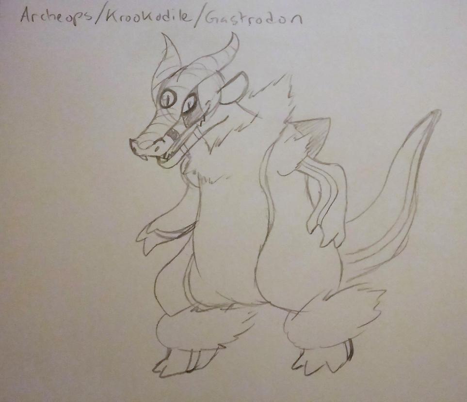 Pokemon Fusion Commission Example by mizumomochi
