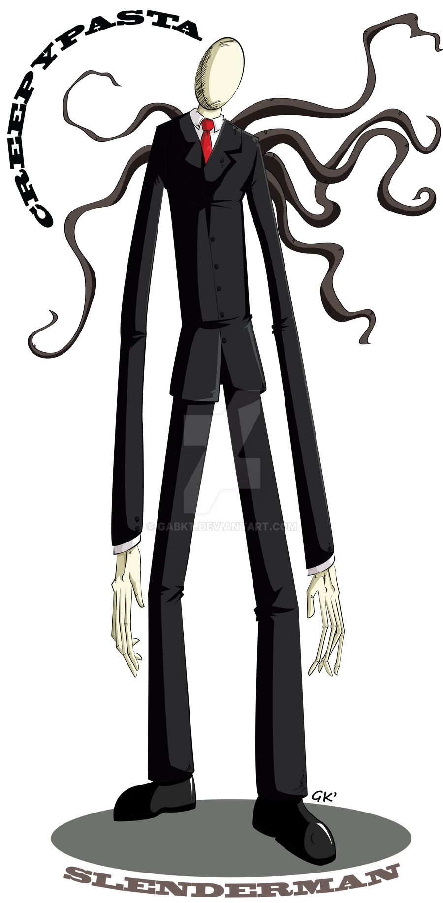 Creepypasta: Slenderman by GabKT on DeviantArt