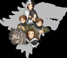 ASOIAF - Arya Stark by GabKT