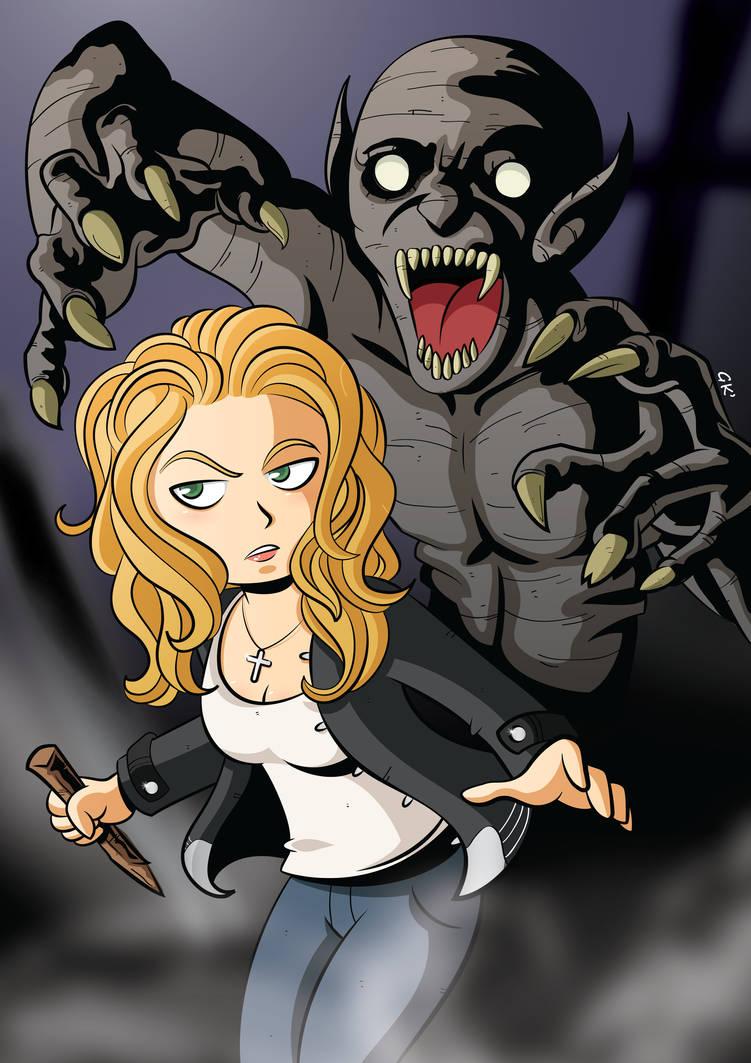 Buffy - The Vampire Slayer by GabKT