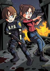 Resident Evil 2 by GabKT