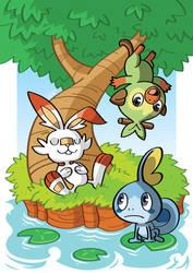 Pokemon Sword and Shield by GabKT