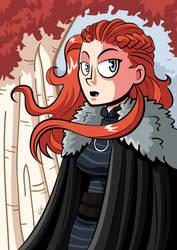 Lady Sansa by GabKT
