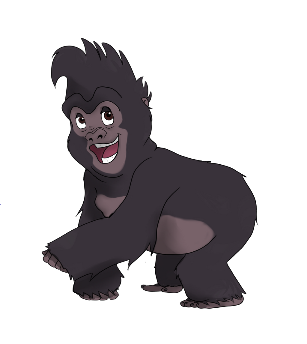 Terk by dae art on deviantart - Tarzan gorille ...