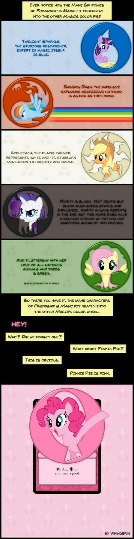 Pony Color Pie by vikingerik78