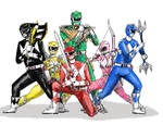 Mighty Morphin Power Rangers by Sanctuary99