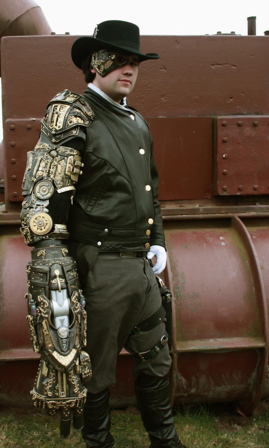 Steampunk Arm at GW 01 by nwcosplay