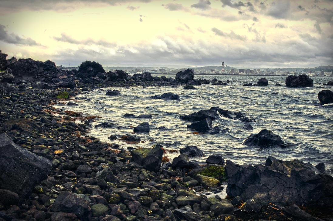 The View from Sakurajima by DavidNowak