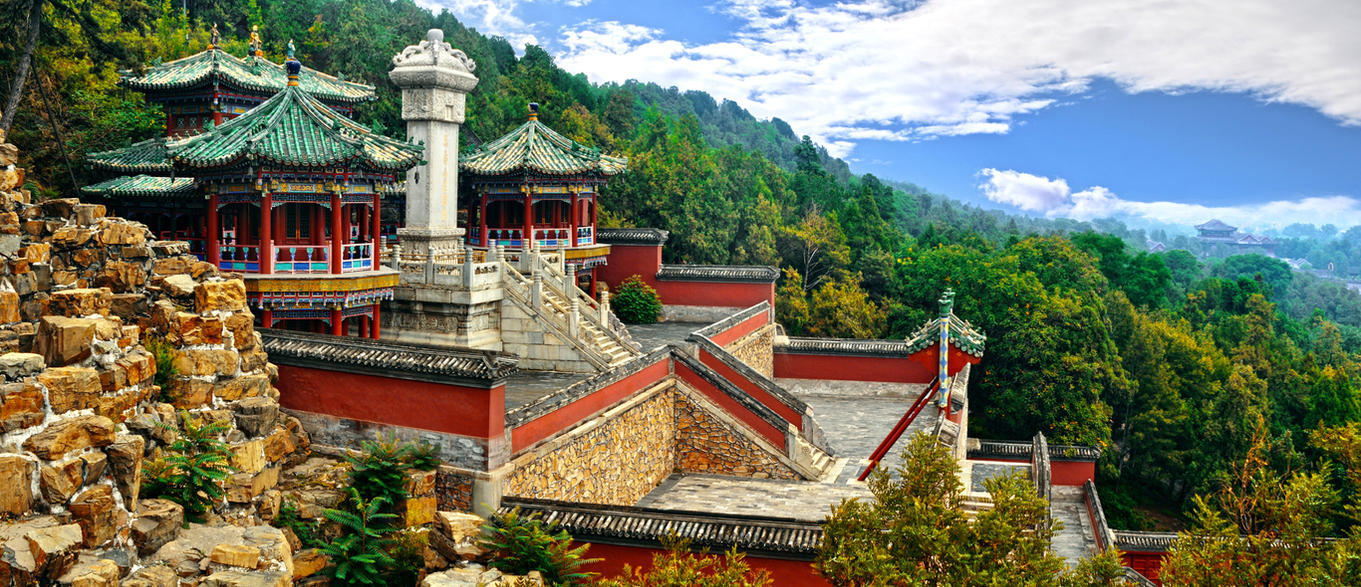 The Summer Palace 02 by DavidNowak