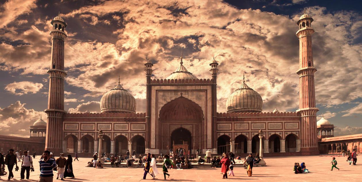 Jama Masjid by DavidNowak