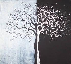 White And Black by DavidNowak
