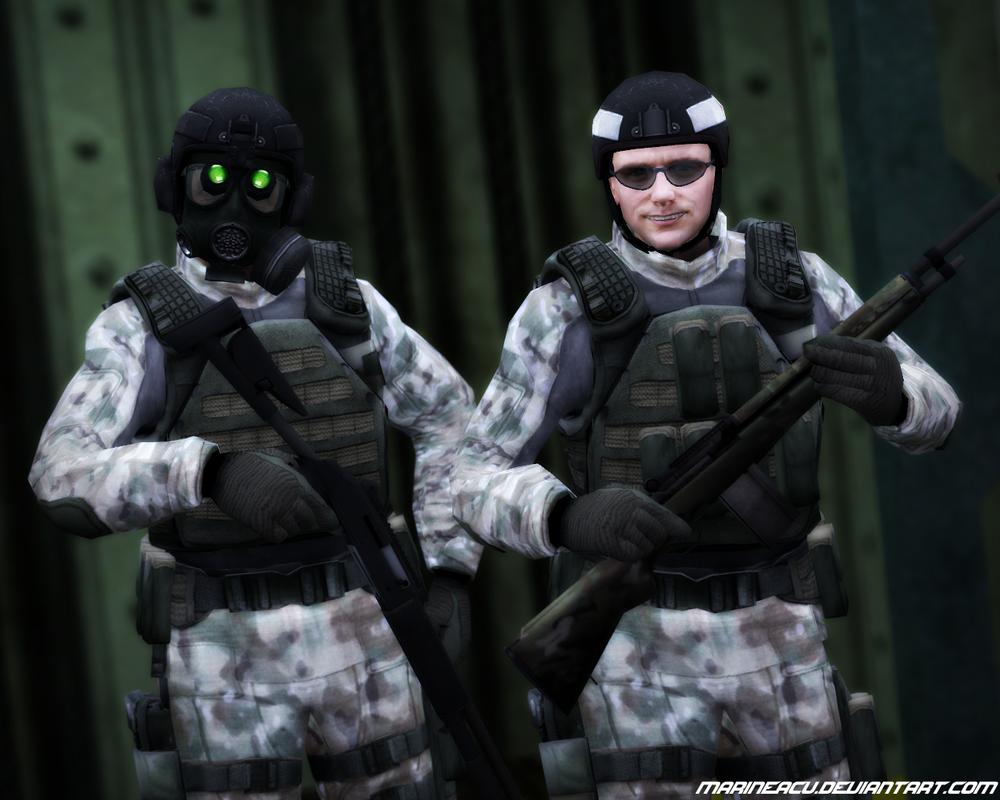 Black Mesa Source Soldier Boys in Multicam by MarineACU