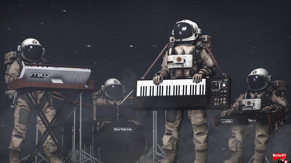 Space music by MarineACU