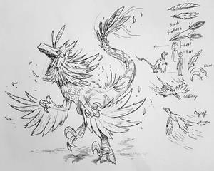 [Mirak] Vamvakiraptor (concept art)