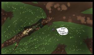Legolas In A Tree