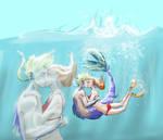 merman x maiden