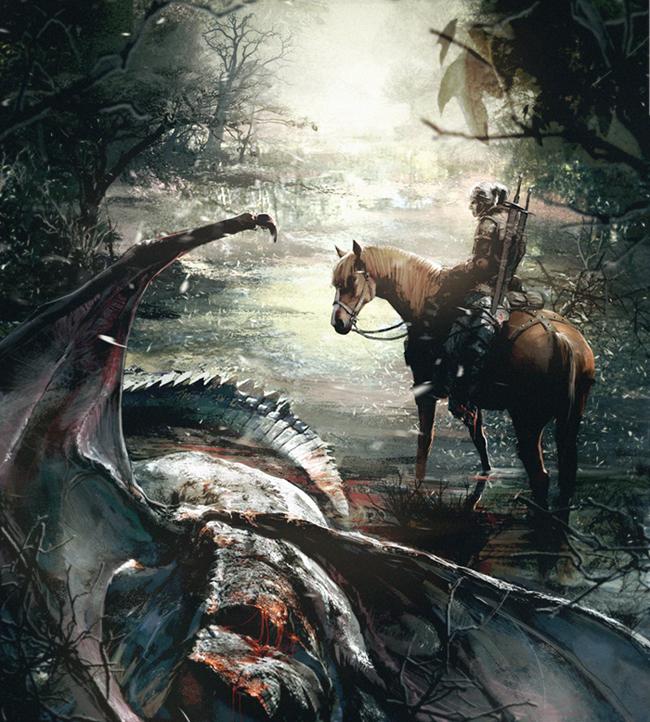 Witcher Fanart by MEYERanek