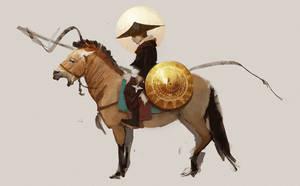 The Lone Rider by MEYERanek
