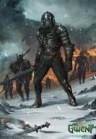 Wild Hunt Warrior by MEYERanek