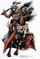 questing knight by MEYERanek