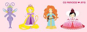 D-Chibi: Cg Princess