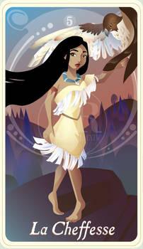{The Princess Tarot} 'La Cheffesse: Pocahontas'