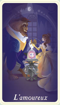 {The Princess Tarot} 'L'amoureux: Belle and Beast'