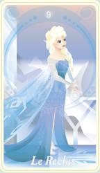 {The Princess Tarot} 'Le Reclus: Elsa'