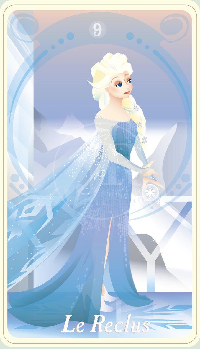 {The Princess Tarot} 'Le Reclus: Elsa' by suisei-ojii-sama