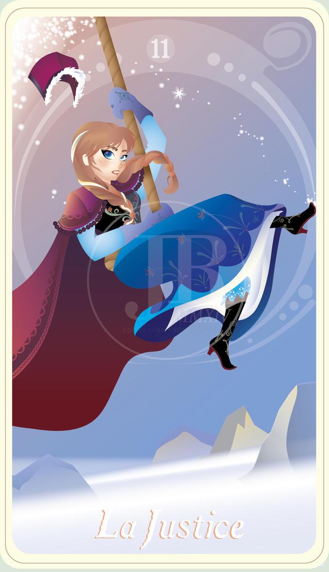 {The Princess Tarot} 'La Justice: Anna' by suisei-ojii-sama