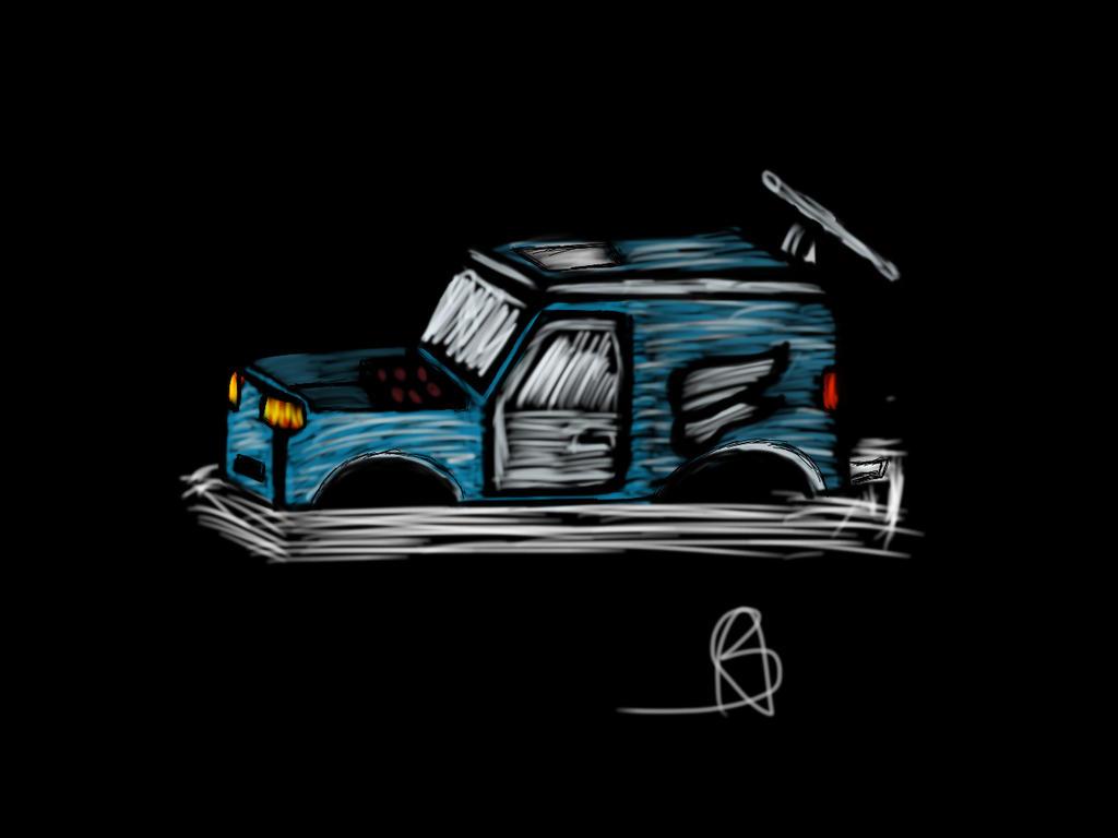 Night Car by LuciferHands