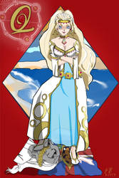 Queen of Diamond Card Shamna by Unforgivenroini