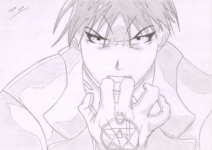Roy Mustang by Calom