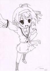 Haruhi Suzumiya :o