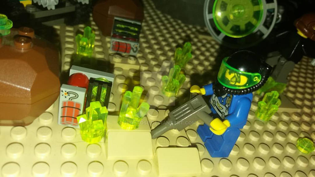 The life of a LEGO miner by sprytose