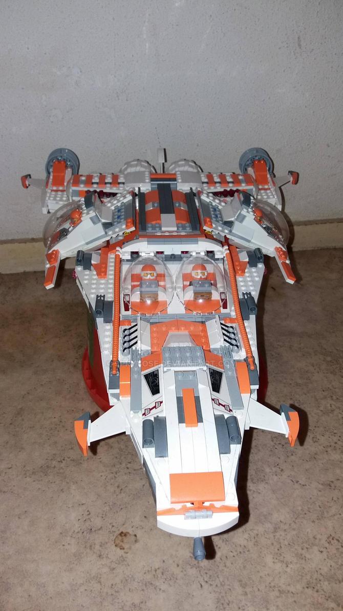 LEGO MOC: Hydra S-19 (2017 version) by sprytose