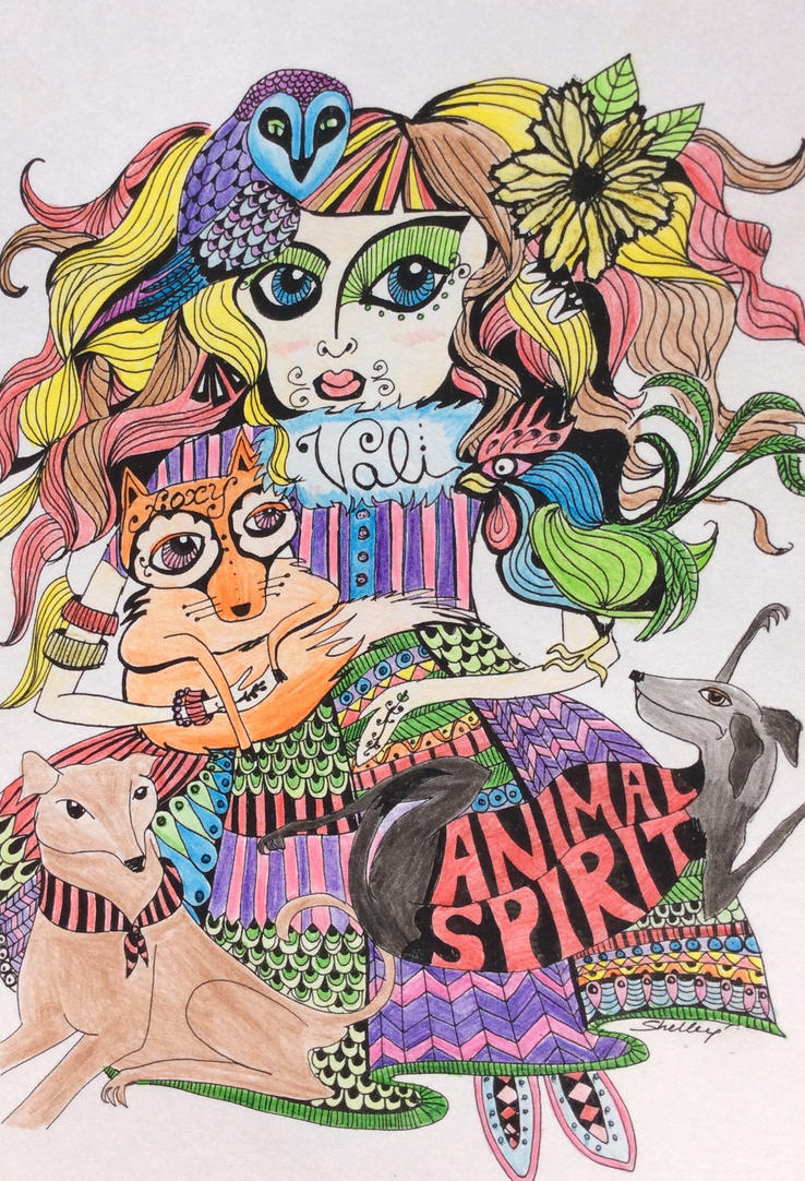 Animal Spirit by GlitterQueen