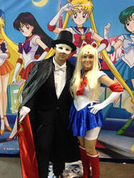 Sailormoon and Tux
