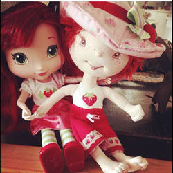 Strawberry  Shortcake Now and Then