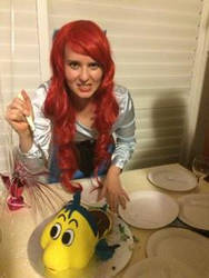 Then Ariel became a Fish Eater