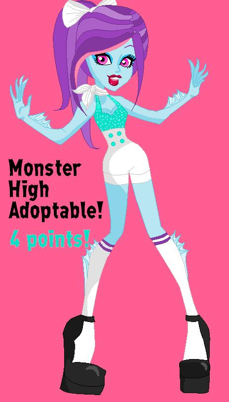 Monster High Adoptable #9 by DesuPanda98