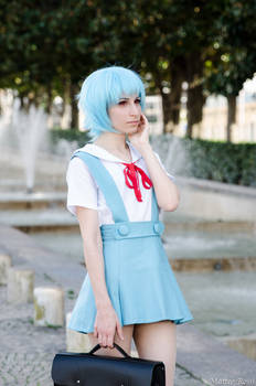 Ae as Rei Ayanami