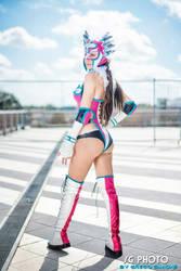 AE as Jaycee from Tekken Tag Tournament 2