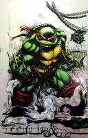 Raphael (TMNT) - colors by FantasticMystery