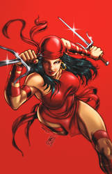 Elektra (colors) by FantasticMystery