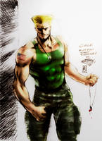 Guile (colors) by FantasticMystery
