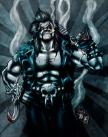 Lobo (colors) by FantasticMystery